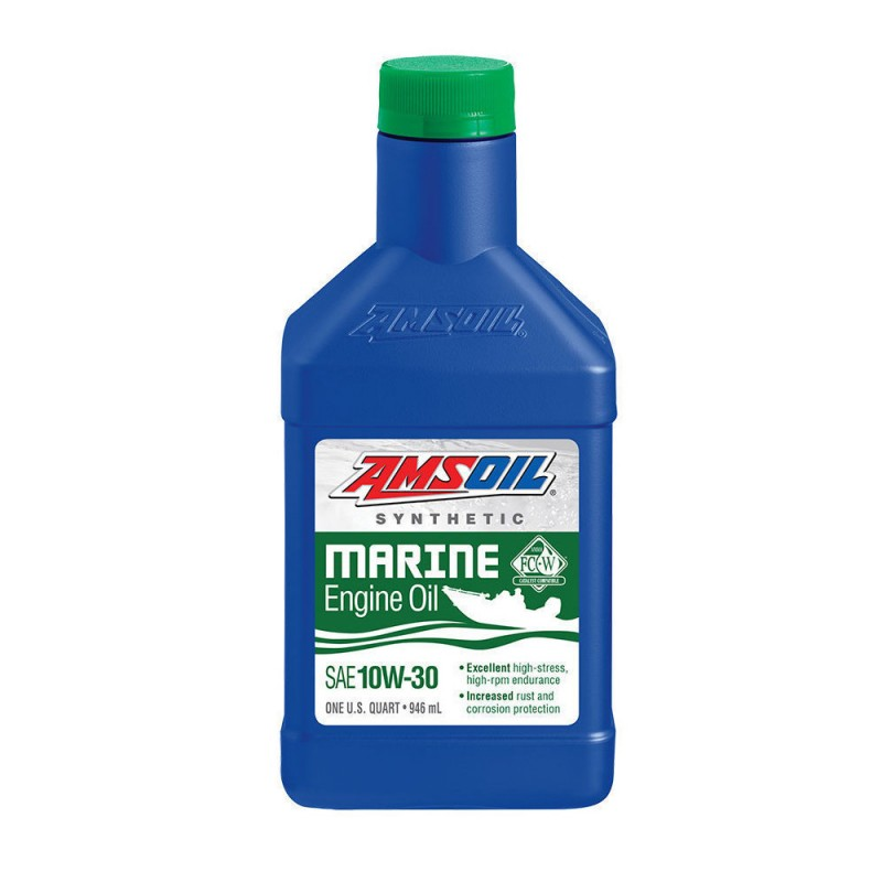 AMSOIL Synthetic Marine Engine Oil , 0W-30