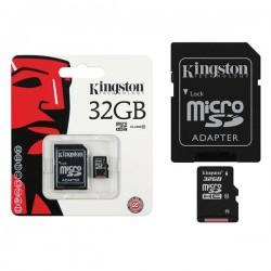 Карта памет Kingston 32GB Read Card + SD Адаптер Class 10