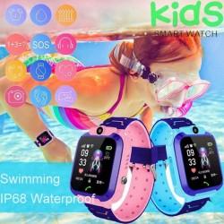 Водоустойчив детски GPS смарт часовник с вградена камера Q12 B WATCH