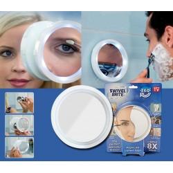 8x LED Увеличително огледало Swivel Brite
