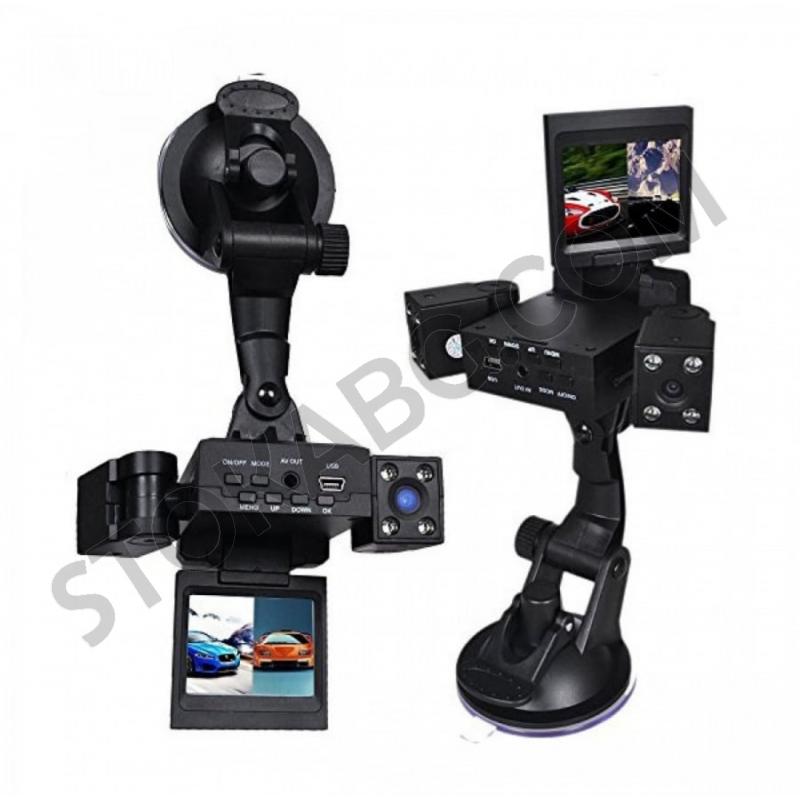 360 - градусов видеорегистратор с две камери и дисплей